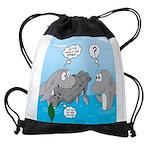 Shark Knight Drawstring Bag
