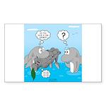 Shark Knight Sticker (Rectangle 50 pk)