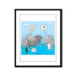 Shark Knight Framed Panel Print