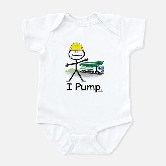 Concrete Pumping Infant Bodysuit