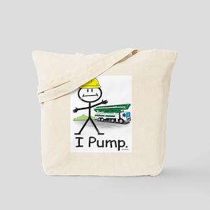 Concrete Pumping Tote Bag