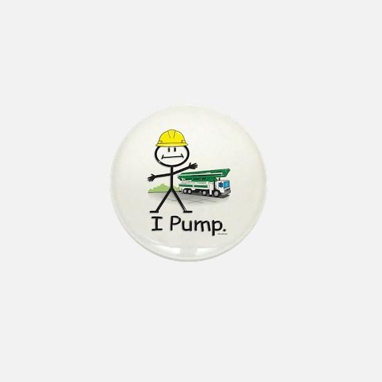 Concrete Pumping Mini Button