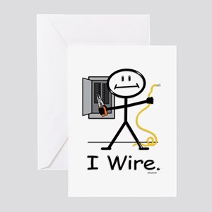 BusyBodies Electrician Greeting Cards (Package of