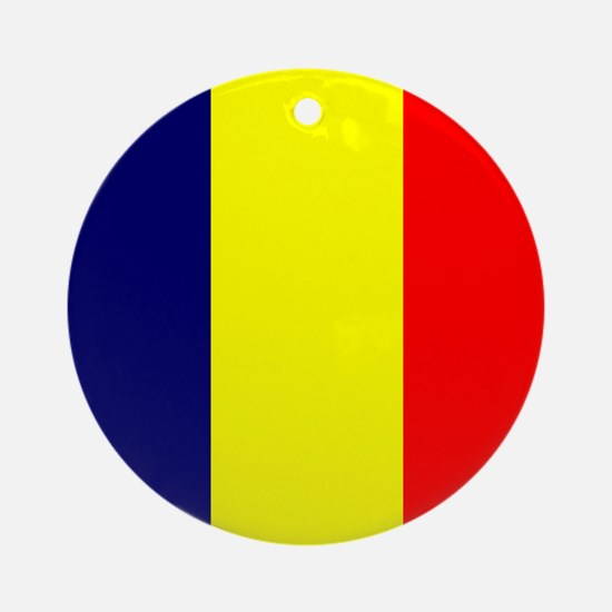 Chadian Ornament (Round)