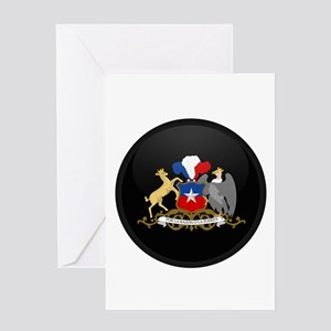 Coat of Arms of Chile Greeting Card