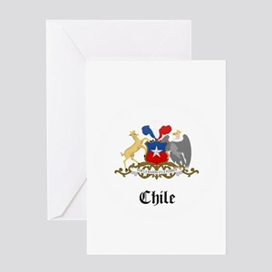 Chilean Coat of Arms Seal Greeting Card