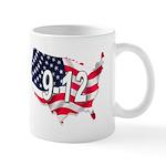 large 30 - 9-12 on america Mugs