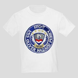 USS OLIVER HAZARD PERRY Kids Light T-Shirt