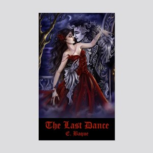 The Last Dance Rectangle Sticker