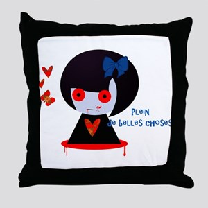 Belles Choses Throw Pillow
