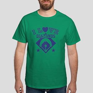 I Love Diamonds Dark T-Shirt