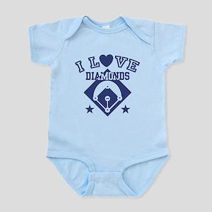 I Love Diamonds Infant Bodysuit