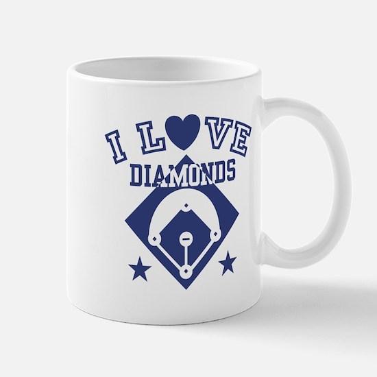 I Love Diamonds Mug