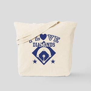 I Love Diamonds Tote Bag