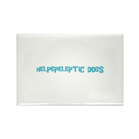 Helpepeleptic Dogs Rectangle Magnet (10 pack)