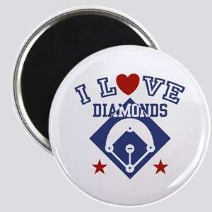 I Love Diamonds Magnet