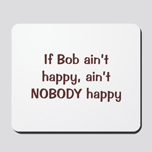 Personalized Bob Mousepad