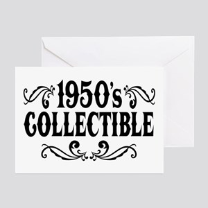 1950's Collectible Birthday Greeting Cards (Pk of