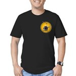 Cool Helicopter Men's Fitted T-Shirt (dark)