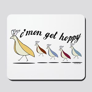 Get Hoppy Partridge Mousepad