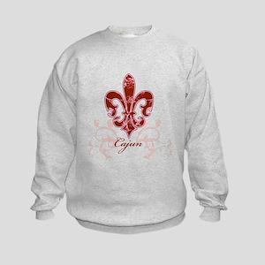 Fleur De Lis 6 Kids Sweatshirt