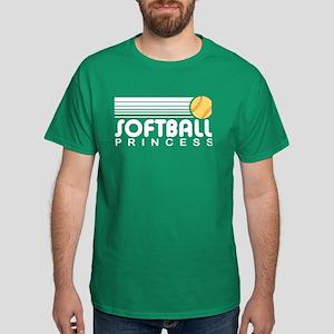 Softball Princess Dark T-Shirt