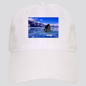 The Orca Whale In The Arctic Cap