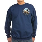 Polar Bear Art Sweatshirt First Nations Wildlife