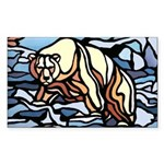 Polar Bear 50 Stickers Wildlife First Nations Art