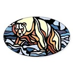 Polar Bear 10 Stickers Wildlife First Nations Art