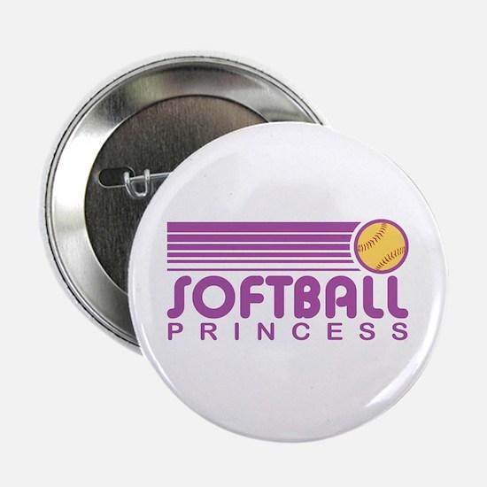 "Softball Princess 2.25"" Button"