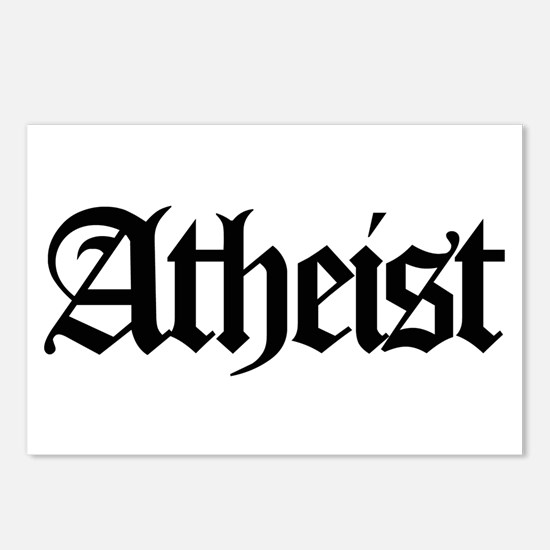 Official Atheist Postcards (Package of 8)