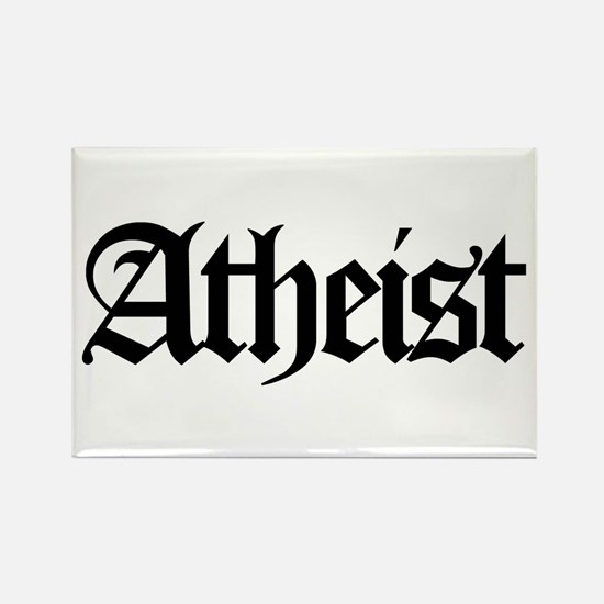 Official Atheist Rectangle Magnet