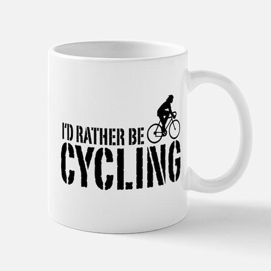 I'd Rather Be Cycling (Female) Mug