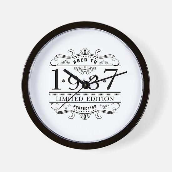 1937 Wall Clock
