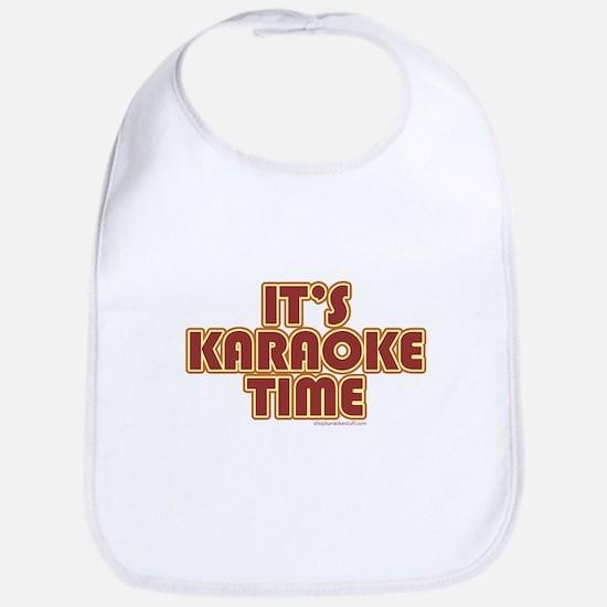 It's Karaoke Time Bib