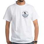 Wavemaker Staffords logo White T-Shirt