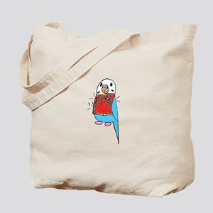 Buddie the Budgie Celebrates Tote Bag