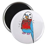 "Buddie the Budgie Celebrates 2.25"" Magnet (10 pack"