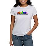 3D Rainbow Puzzle Women's T-Shirt