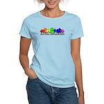 3D Rainbow Puzzle Women's Light T-Shirt