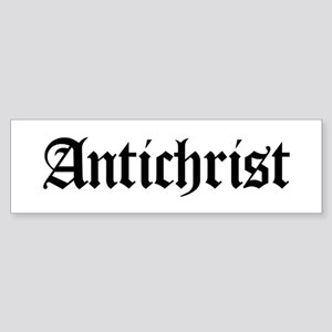 Antichrist Bumper Sticker