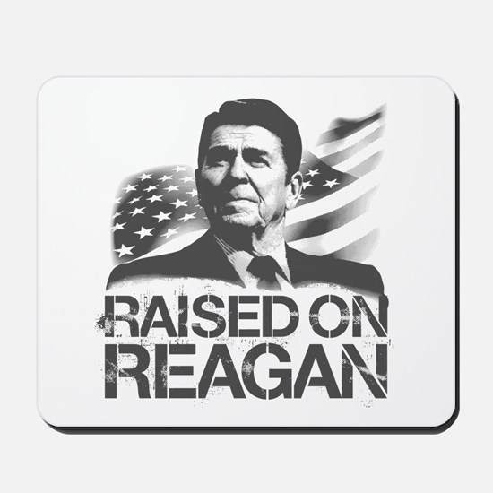 Raised on Reagan Mousepad
