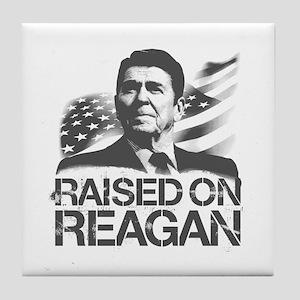 Raised on Reagan Tile Coaster