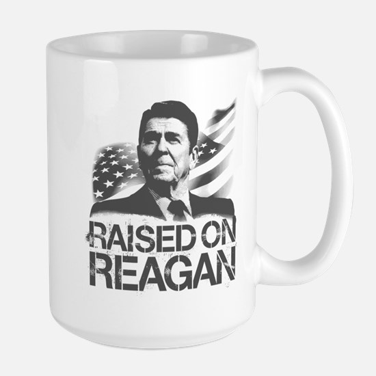 Raised on Reagan Large Mug