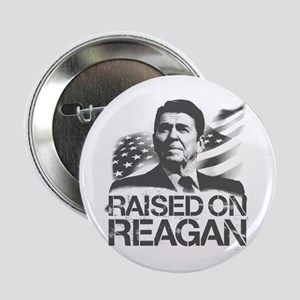 """Raised on Reagan 2.25"""" Button"""