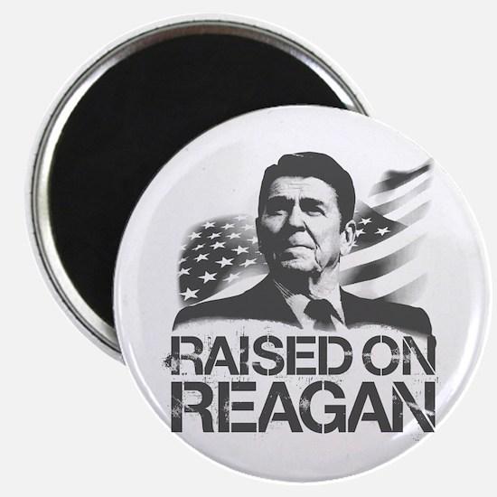 "Raised on Reagan 2.25"" Magnet (10 pack)"