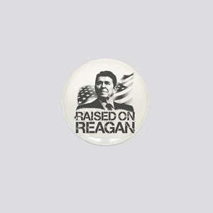 Raised on Reagan Mini Button