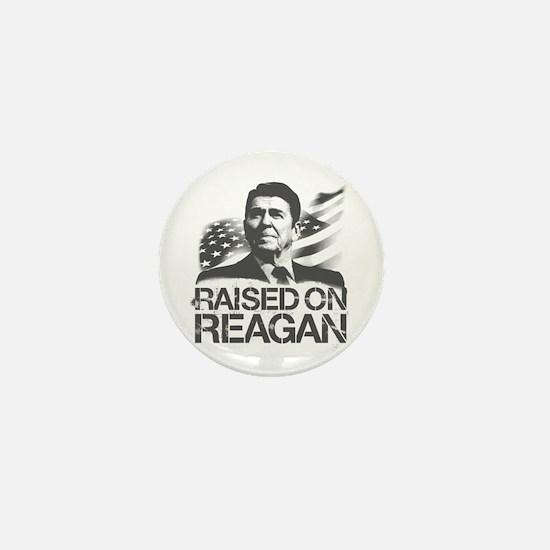 Raised on Reagan Mini Button