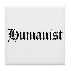 Humanist Tile Coaster